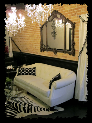 Boutique Salon Waiting Room